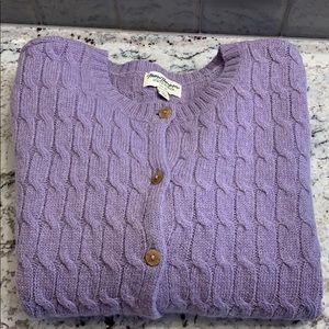 Shetland Wool Sweater Size XL EUC